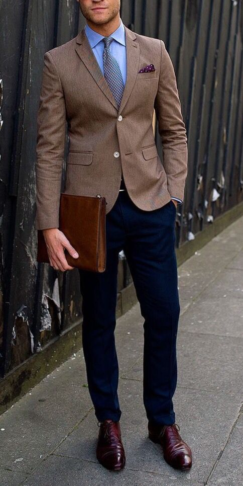 Men's fashion encourages us to mix and match our blazers and .