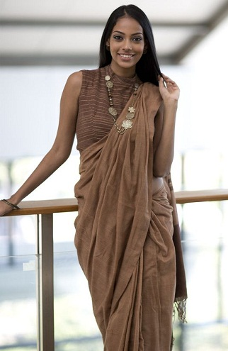 9 New Designs of Brown Blouses in Different Shades | Styles At Li