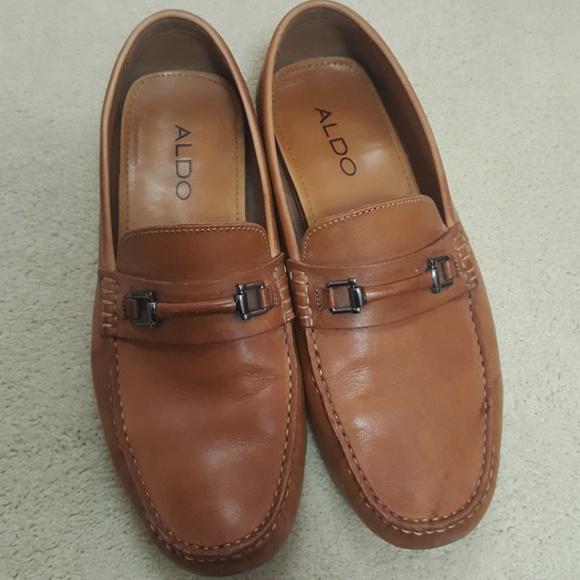 Aldo Shoes | Brown Loafers | Poshma