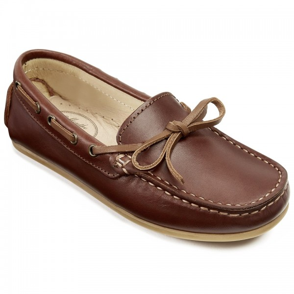 Aymard - Moccasins Loafers for Boys and Girls - Menthe et Grenadi