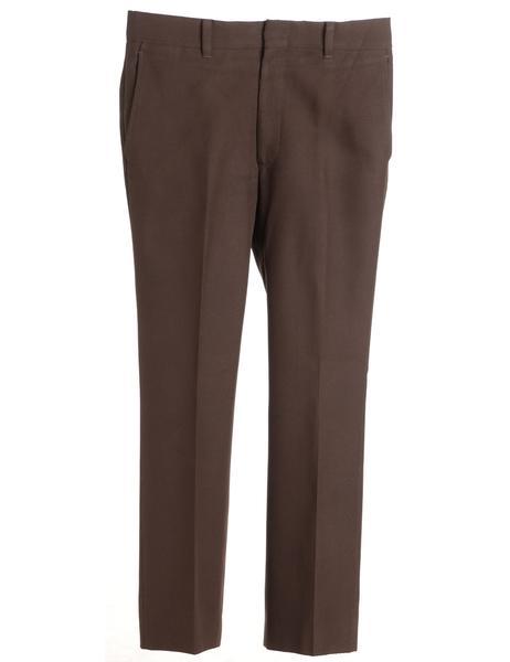 Men's Brown Trousers Brown, M | Beyond Retro - E005373