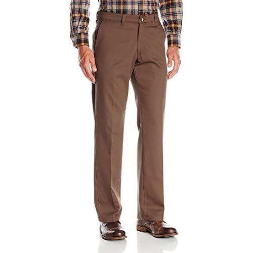 Brown Slacks: Amazon.c