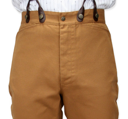 Classic Canvas Trousers - Bro