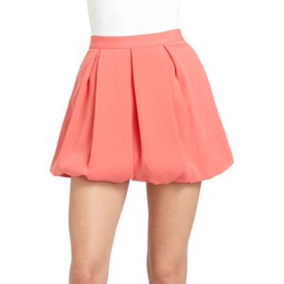 Alice + Olivia Skirts | Alice Olivia Coral Bubble Skirt 2 | Poshma
