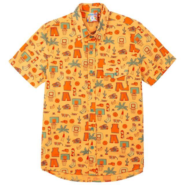 Slam Dunk Paradise Button Up Shirt – Mokuyo