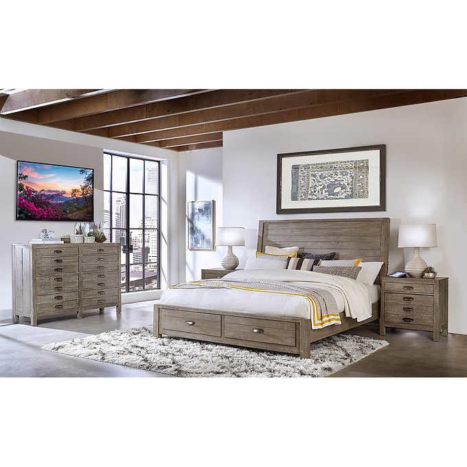 Dandridge 4-piece Cal King Storage Bedroom S
