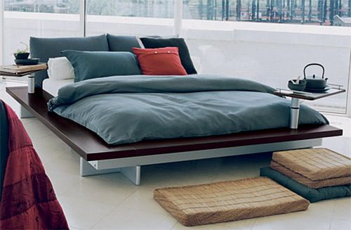 Modern Low Profile bed (With images) | Low height bed, California .