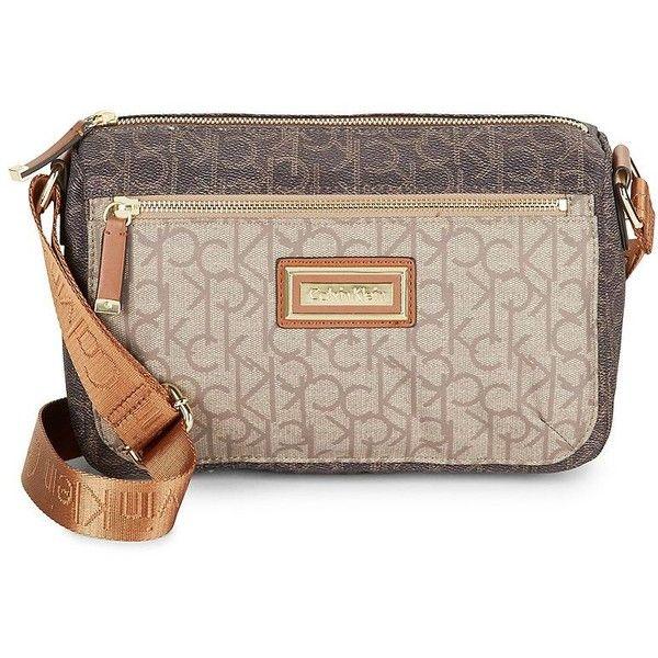 Calvin Klein Belfast Crossbody Bag (2,010 MXN) ❤ liked on .