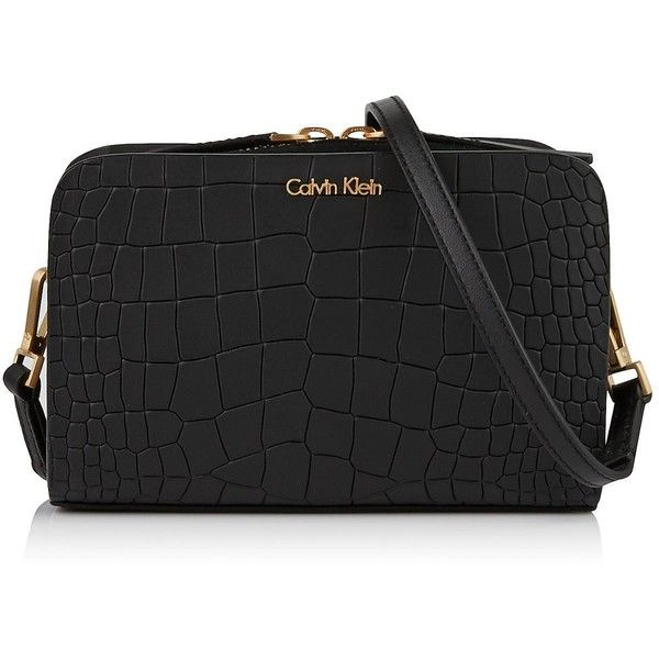 Calvin Klein Bea Leather Croc Effect Mini Cross-body Bag (153.970 .
