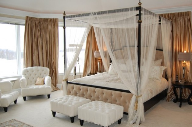 34 Dream Romantic Bedrooms With Canopy Be