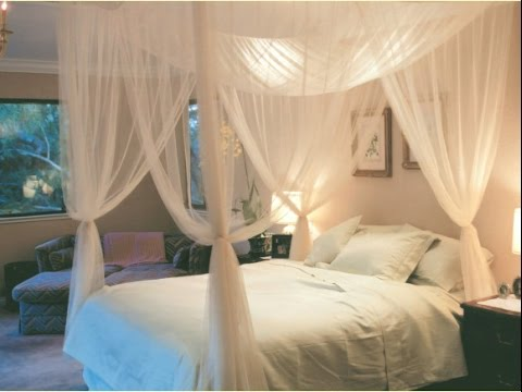 Bedroom. Remarkable Full Size Canopy Bed Design Ideas - YouTu