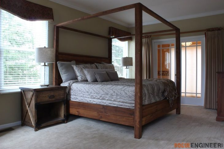 Canopy Bed - King Size » Rogue Engine