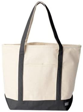 Amazon.com - Extra Large Cotton Canvas Tote Bag for Grocery, Kids .