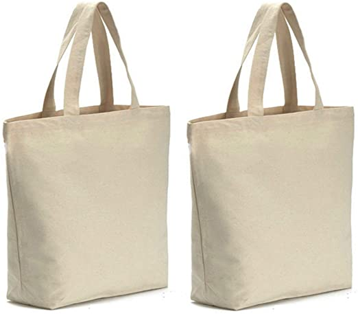 Amazon.com: Axe Sickle 2PCS Canvas Tote Bag Bottom Gusset 16 X 16 .