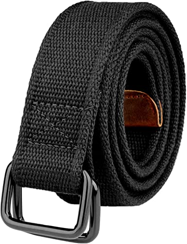 Drizzte Plus Size 39-75'' Long Double Ring Big Mens Canvas Fabric .