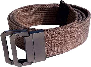 "DIY Length 3MM Thick Canvas Belts For Men Unisex S-L (45"" for ."