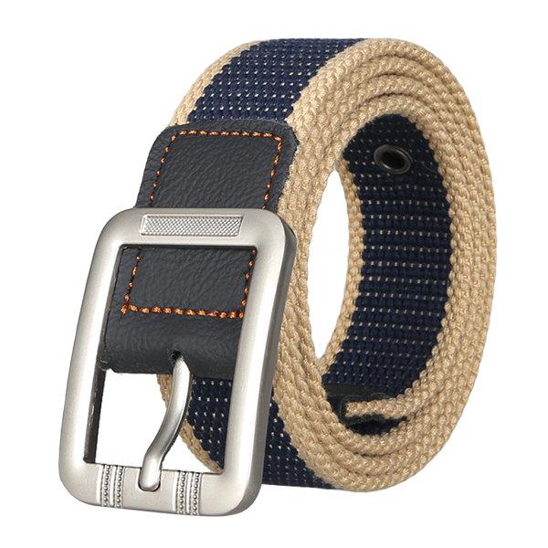 Designer Belts For Men Fashion Casual Pin Buckle Canvas Belt Men .