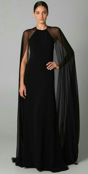Cape Dress! My new obsession!! (With images)   Evening dresses .