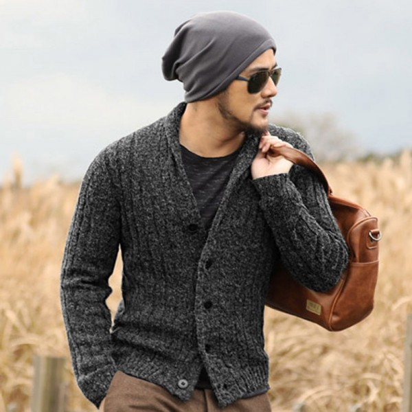 Buy Designer cardigans men sweaters 2018 knitwear button cardigan .