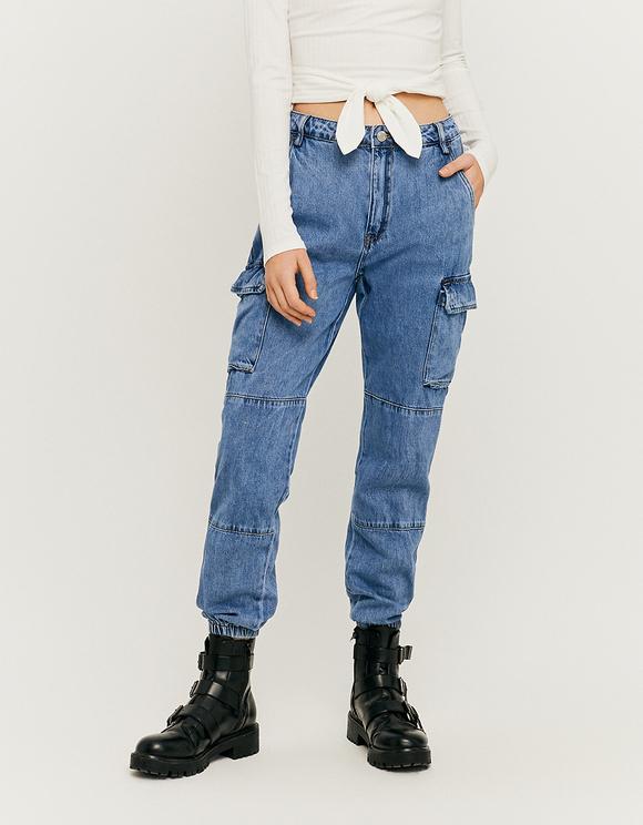 High Waist Cargo Jeans | TALLY WEiJL Online Sh