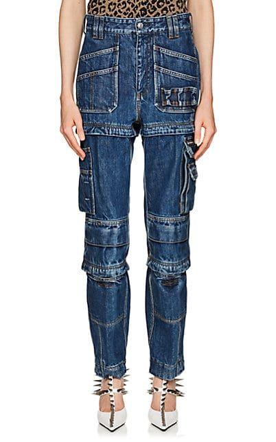 Balenciaga Convertible Cargo Jeans | Barneys New York (With images .