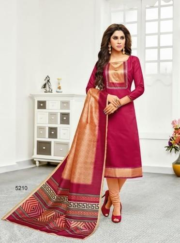 Cotton Silk Dupatta Casual Salwar Kameez, Rs 531 /piece Kapdavilla .