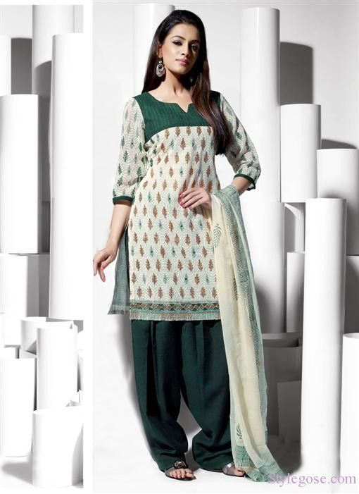 Casual Salwar Kameez (With images) | Salwar kameez designs, Casual .
