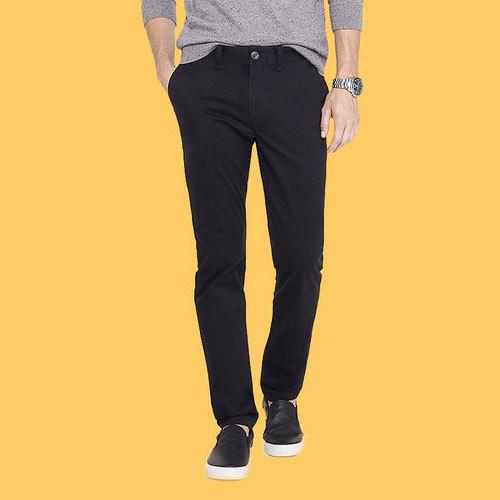Men's Cotton/Linen Black Casual Trousers, Size: S-XL, Rs 400 .