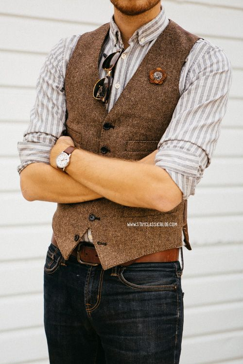 Wool vest for fall http://www.99wtf.net/young-style/urban-style .