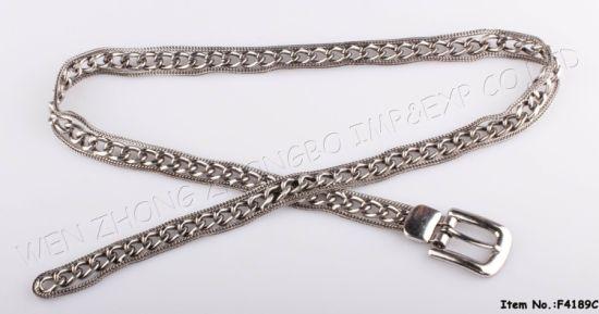 China 2019 Women Fashion Metal Chain Belt - China Belts, Waist Bel