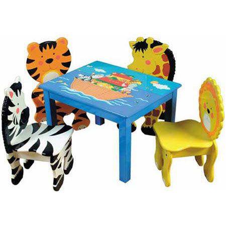 Animal chairs for children (com imagens) | Mesa para criança .