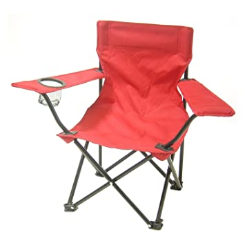 Amazon.com: Redmon for Kids, Kids Folding Camp Chair, Red: Kitchen .