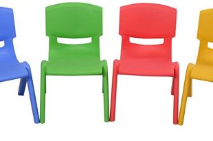 Amazon.com: Costzon Kids Chairs, Stackable Plastic Learn and Play .