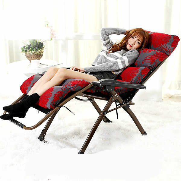 Promotion high quality folding office chair lunch pavilion nap .