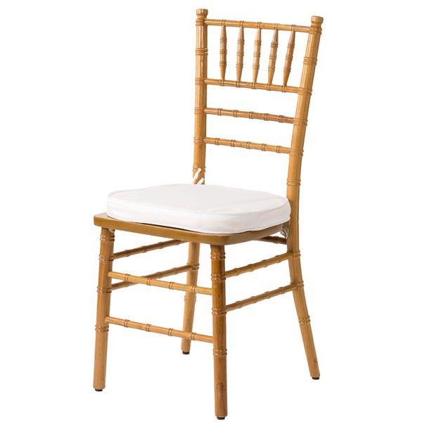 Natural Wood Chiavari Chairs - Orlando Wedding and Party Renta