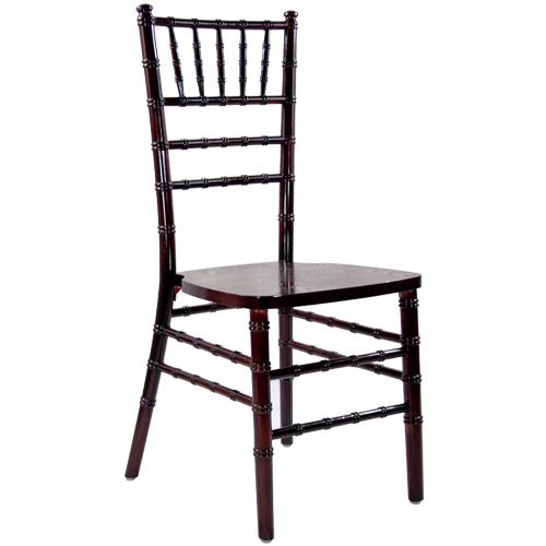 Mahogany Chiavari Chairs - Orlando Wedding and Party Renta