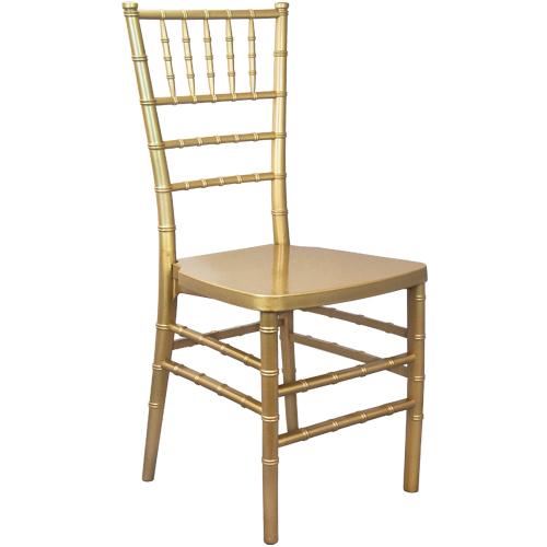 Gold Monoblock Resin Chiavari Chair | Chiavari Chairs For Sa