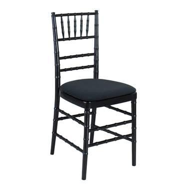 Black Chiavari Chairs - Orlando Wedding and Party Renta