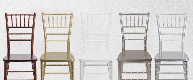 Chiavari Chairs - Wedding, Ballroom, Event Seating .