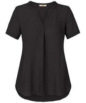 Modern Style Latest Chiffon Tops Mature Ladies Sample Blouse - Buy .