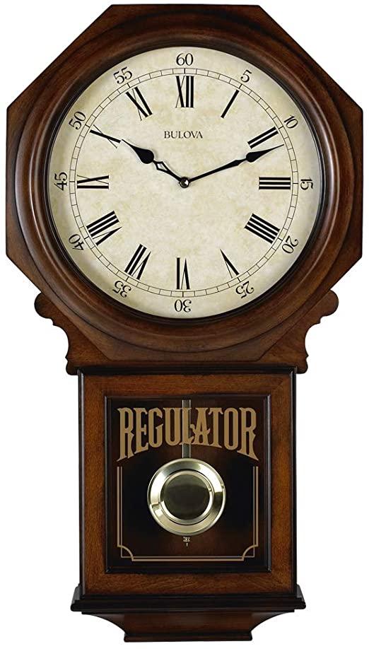 Amazon.com: Bulova C3543 Ashford Chiming Clock, Walnut: Home & Kitch