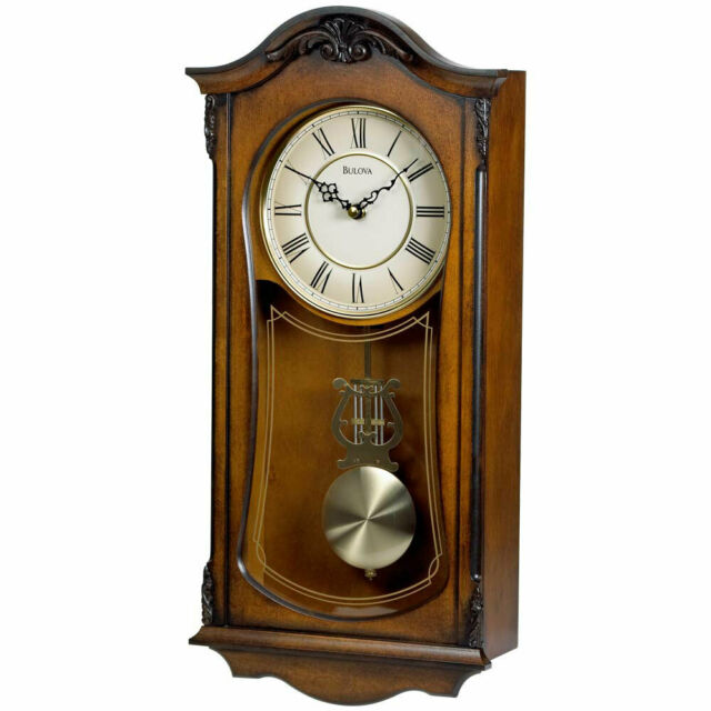 Bulova Canterbury Majestic Wall Chiming Clock for sale online | eB