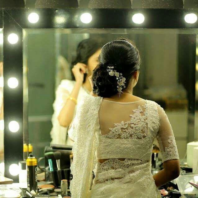 Pin by nithiya joe on Saree (With images) | Christian bridal saree .