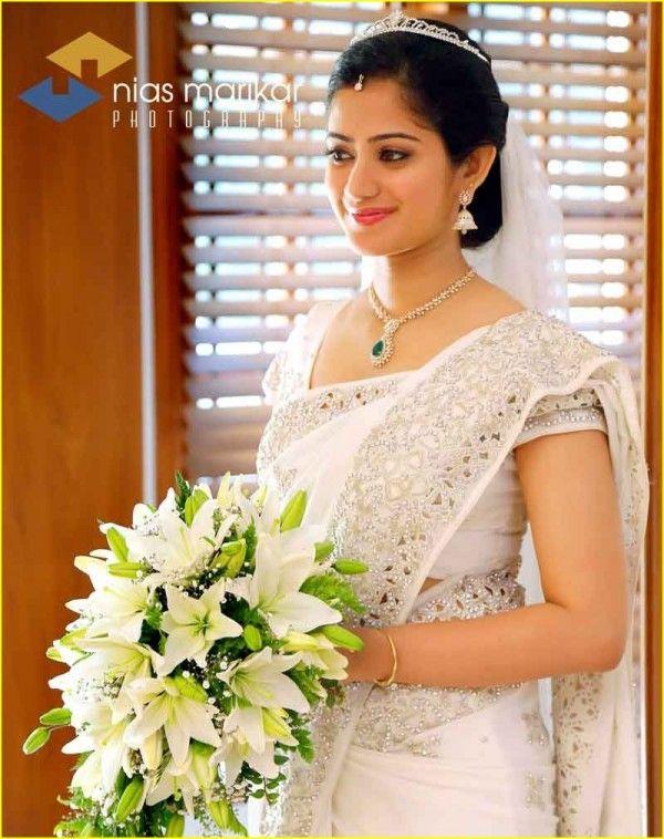 Indian Christian Weddings Designer Bridal Saree Ideas | Christian .