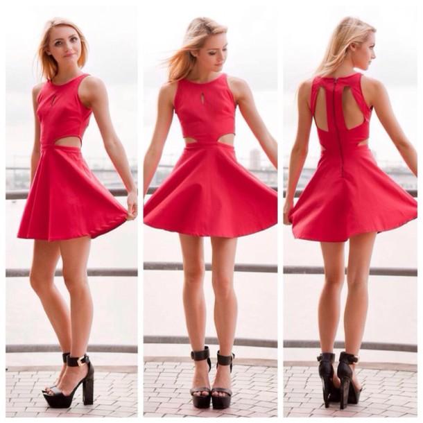 dress, christmas dress, christmas dresses, pretty, cute, skater .