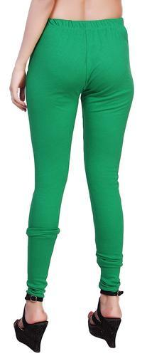 JAISMIN COLLECTION LEGGINGS PANTS CHURIDAR green FOR GIRLS .