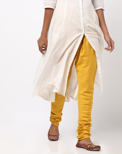 Buy Mustard Salwars & Churidars for Women by Jiyaa Online | Ajio.c