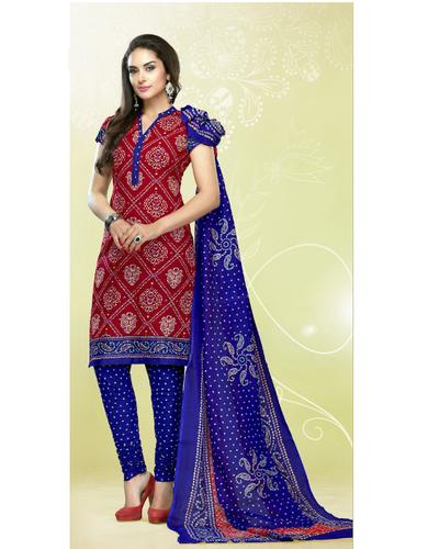 Cotton Semi-Stitched Churidar Salwar Suit, Rs 800 /piece Standard .