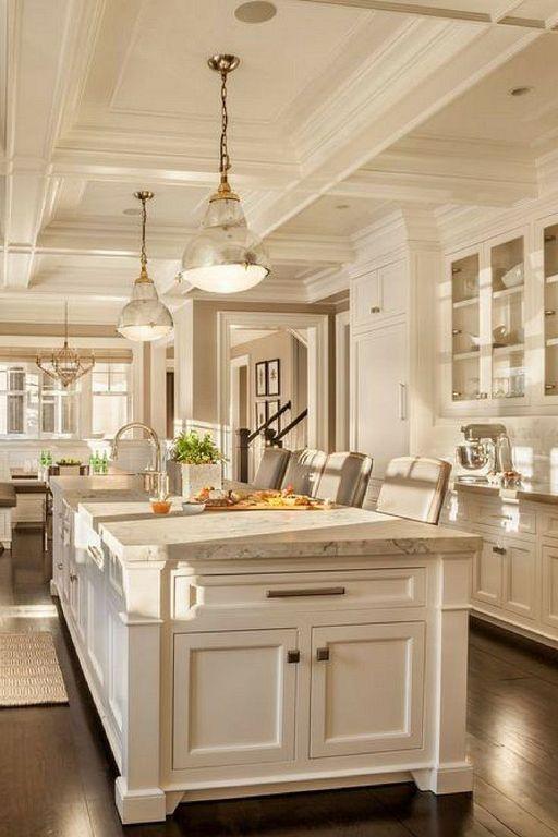 40+ Modern Classic Kitchen Design Ideas To Inspire You   Elegant .