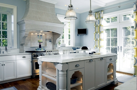 Setting up classic white kitchen – 15 refined kitchen designs .